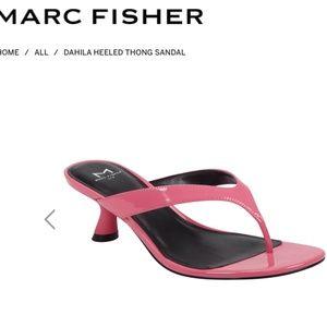 Marc Fisher LTD DAHILA HEELED THONG SANDAL 8